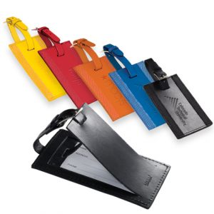 Majestic Leather Luggage Tags