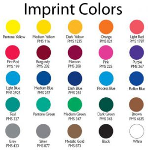 Imprint Colors
