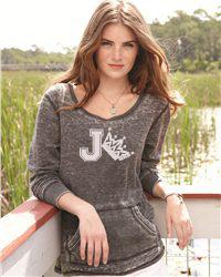J. America - Ladies' Zen Thermal Long Sleeve T-Shirt