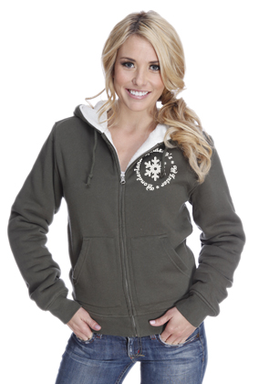 B-Junior's Sherpa Lined Zip Hood (FASHION WEAR)