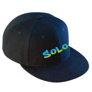 Flat Brimmed Hat