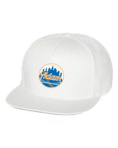 5-Panel Snapback Flat Brim Hat