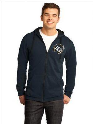NEW District® - Young Mens Concert Fleece™ Full-Zip Hoodie