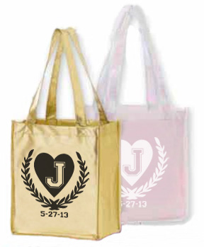 Laminated Metallic Shopping Bag