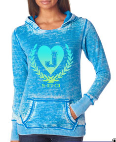 J-America Ladies' Vintage Zen Hooded