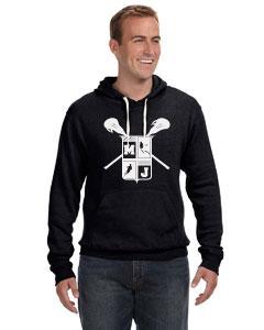 J America Unisex Triblend Pullover Fleece Hood