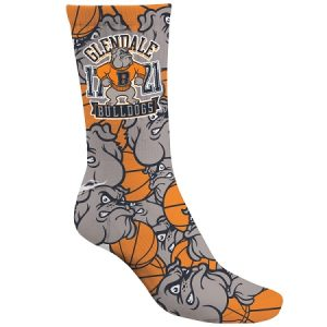 Sublimated Crew Length Socks
