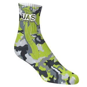 Sublimated Mid Length Socks