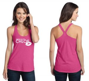 District - Juniors Tri-Blend T-Back Tank