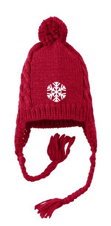 District - Cabled Beanie with Pom