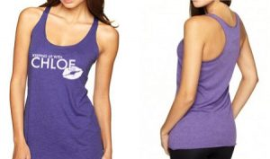 Next Level Tri-Blend Racerback Tank