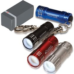 Micro 3 LED Keychain Flashlight