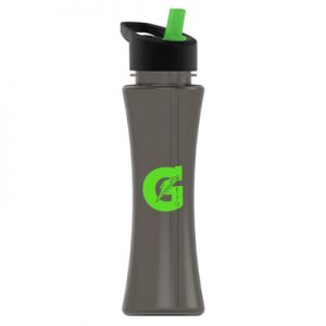 TXB17H - The Curve - 17 oz. Tritan Bottle -Flip Straw Lid