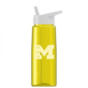26 oz Tritan Flair Bottle with Flip Straw Lid