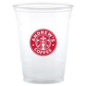 Clear Soft Cups without Lid