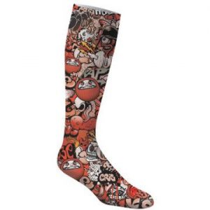 Knee High Athletic Sock - Full Color Exterior