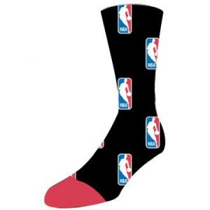 "Crew Sock 18""- Black Interior- Full Color Exterior"