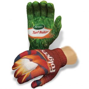 Full Color Sublimated Knit Gloves