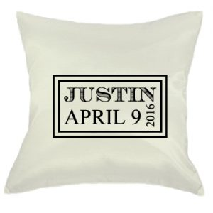 "16"" x 16"" Satin Pillows"