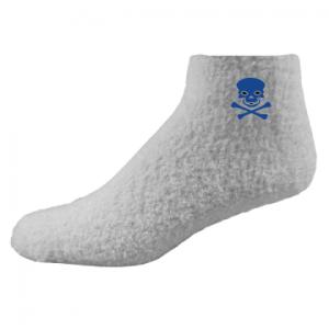 Custom Fuzzy Sock with Patch