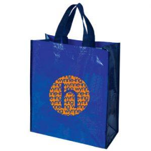 Laminated Woven Tote Bag
