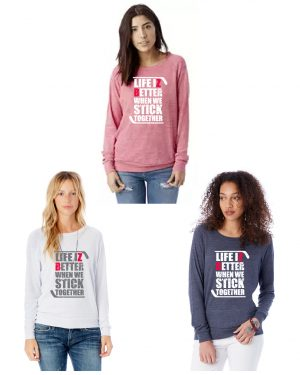 Ladies' Slouchy Eco-Jersey Pullover