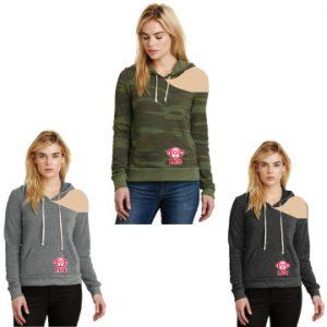TCG EXCLUSIVE: Shoulder Cut Eco Fleece Pullover Hoodie