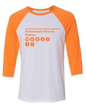 White / Neon Orange