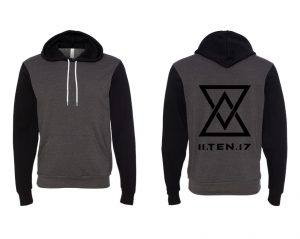 Dark Grey Heather / Black