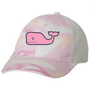 Pink Camo / White