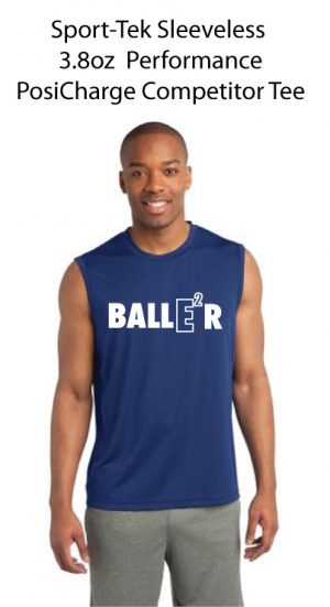 Sleeveless 3.8oz  Performance PosiCharge Competitor Tee
