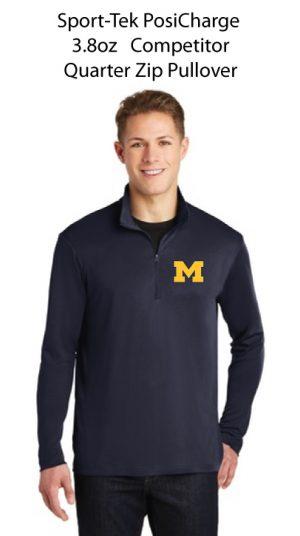 3.8oz  Competitor Quarter Zip Pullover