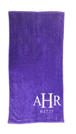 Embroidered Beach Towel