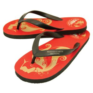 Premium Rubber Flip Flops with Natural Rubber Straps
