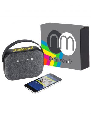 Woven Fabric Bluetooth Speaker with Full Color Wrap
