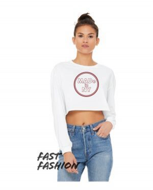 Women's Cropped Long Sleeve Tee