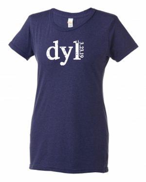 Ladies' Slim Fit Tri Blend T-Shirt