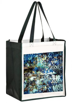 Laminated Non-Woven Sublimated Grocery Bag